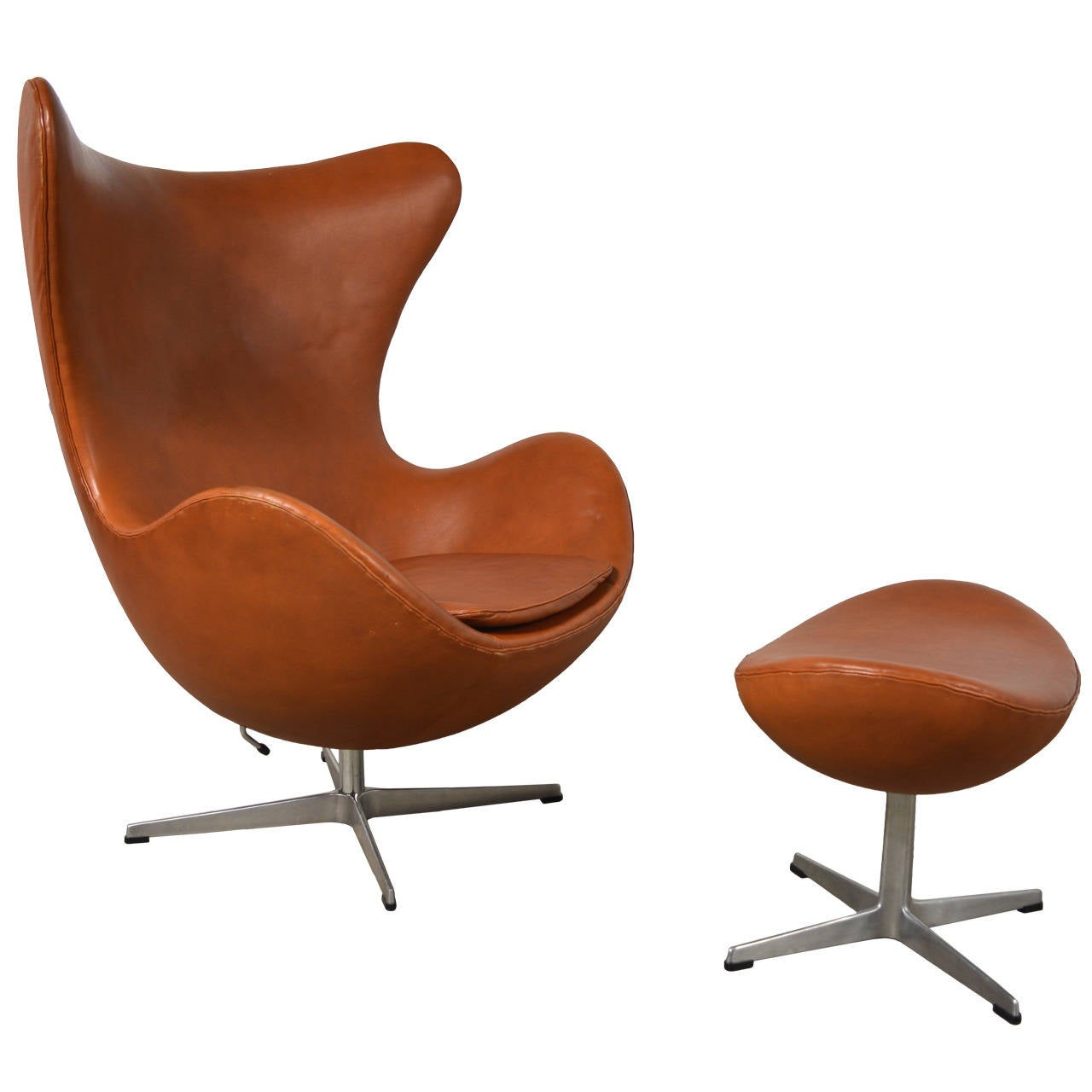 Pouf Design Egg Pouf Jacobsen : Arne jacobsen egg chair and ottoman for sale at stdibs