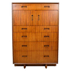 Tall Dresser by Frank Lloyd Wright