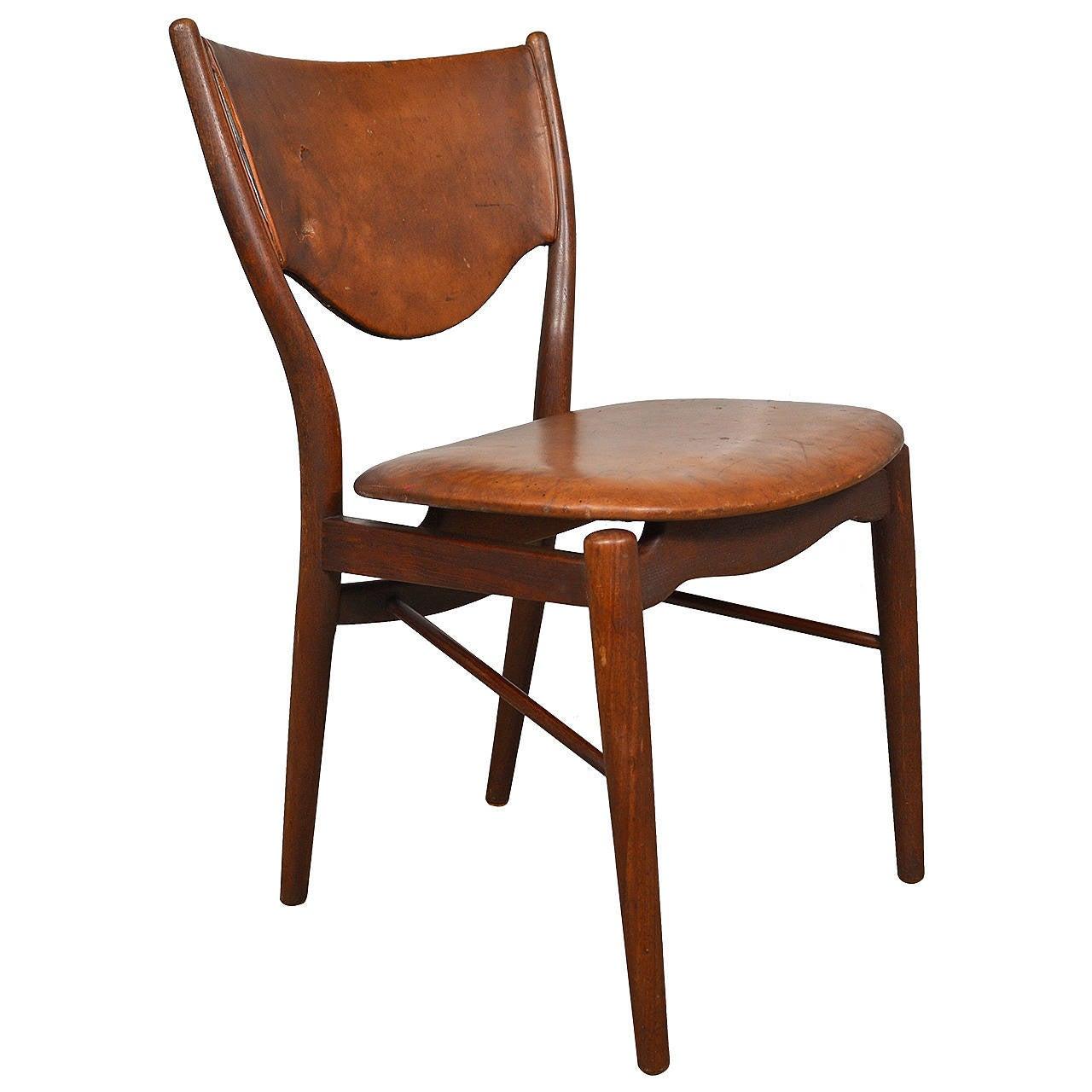 Finn juhl side chair for bovirke for sale at 1stdibs for Side chairs for sale