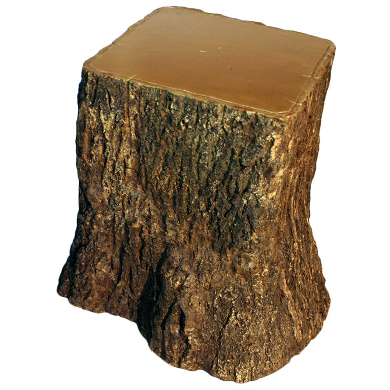 Wolfs And Jung Square Tree Trunk Stool Ii For Sale At