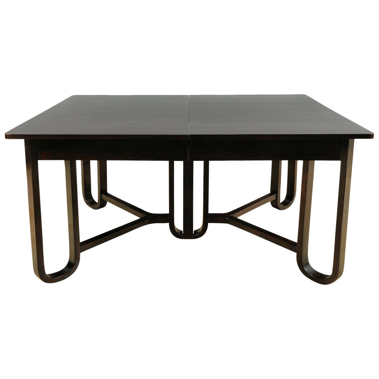 Extendable dining table by gebrueder thonet circa 1915 at for Table thonet
