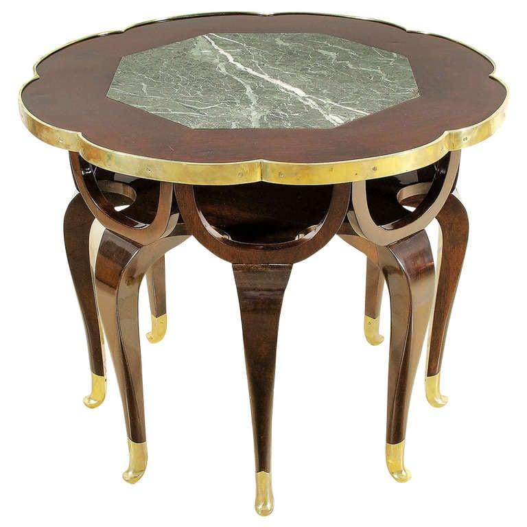 Eight legged Elephant Trunk Table By Adolf Loos At 1stdibs