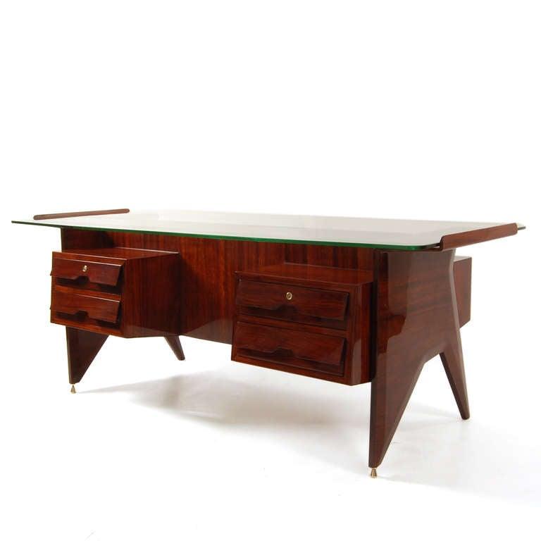 Desk gio ponti attributed at 1stdibs - Gio ponti mobili ...