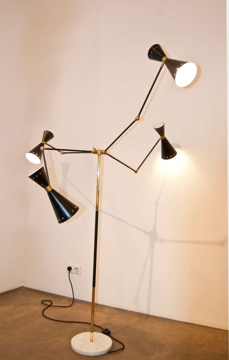 Charming 1950s floor lamp at 1stdibs for 1950 floor lamp