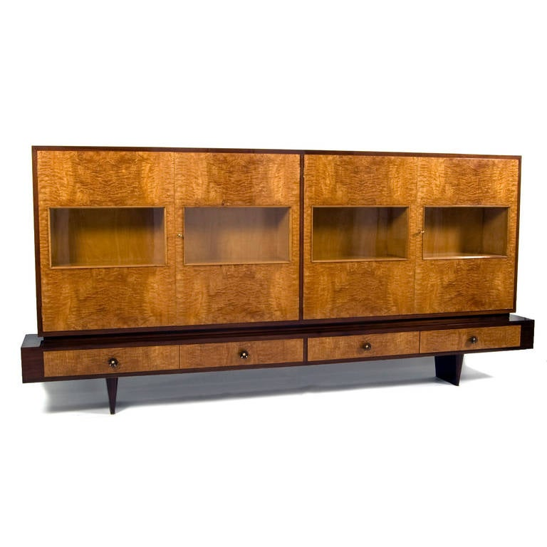 italian book cabinet from the 1940s for sale at 1stdibs