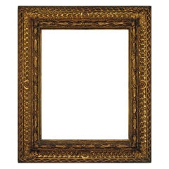 C. 17th Century Italian Gilded Wood Frame.