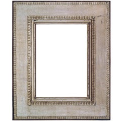 C. 1920 British Modernist Silver-leaf Frame.