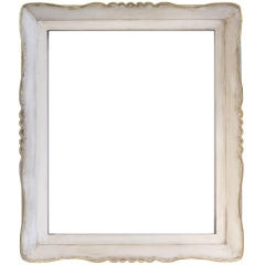 c. 1915 - 20 American Modernist frame, gesso and gold leaf on wood