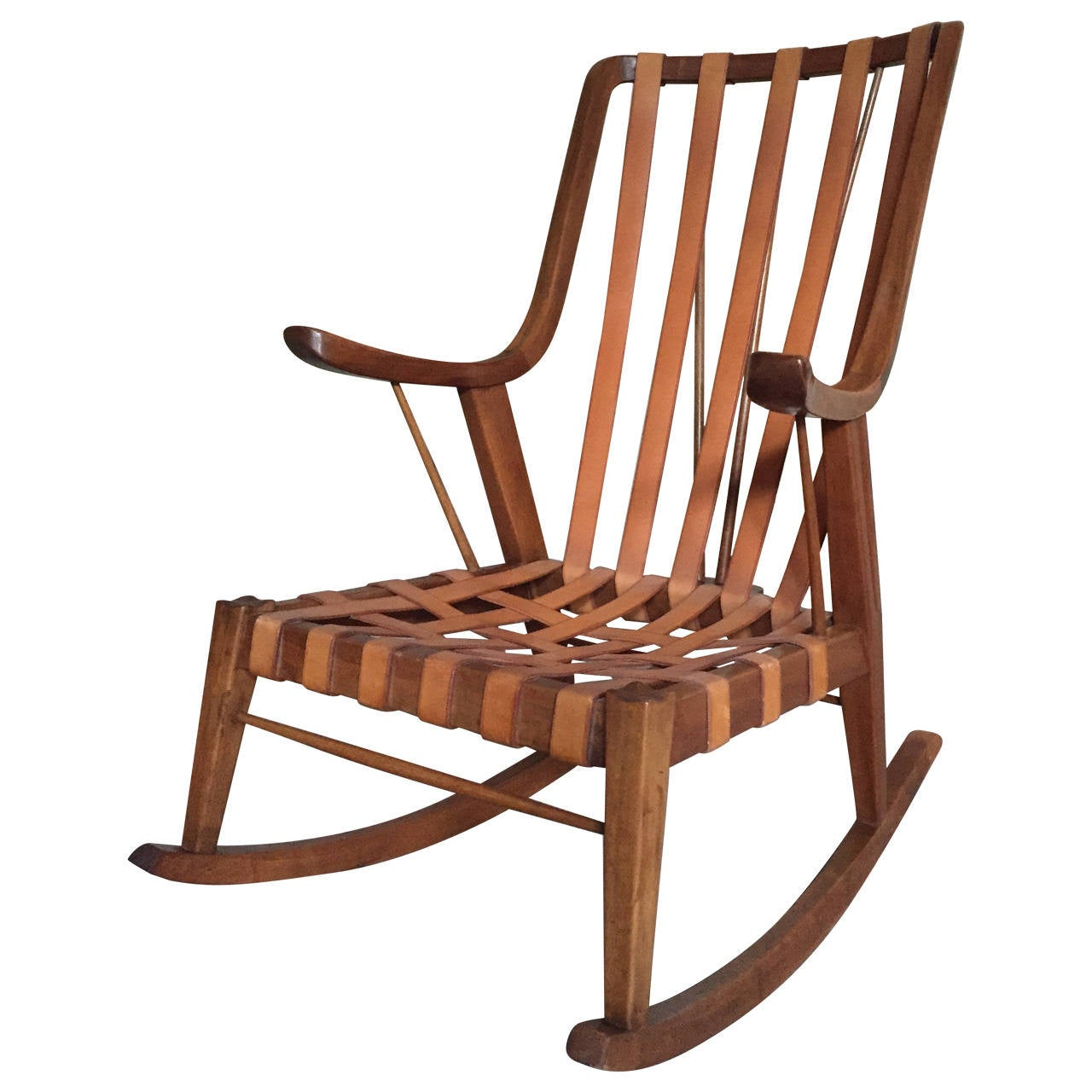 1960 Ercol Rocking Chair At 1stdibs