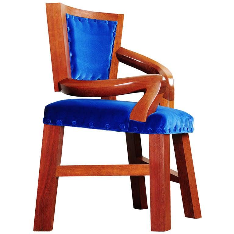 Pair of hans wegner lounge chairs at 1stdibs - Stuhl 4 L Jpg
