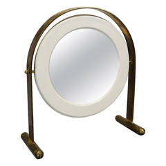 Table Mirror by Ettore Sottsass, Poltronova, Italy, circa 1960