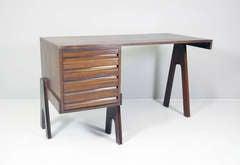 Desk by Angelo Mangiarotti & Bruno Morassutti, Guiseppe Bianchi Italy 1955