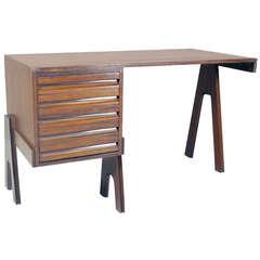 Desk by Angelo Mangiarotti & Bruno Morassutti, Giuseppe Biachi Italy 1955
