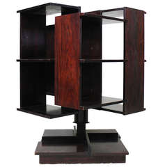 Bookcase by Claudio Salocchi, Sormani Italy 1960