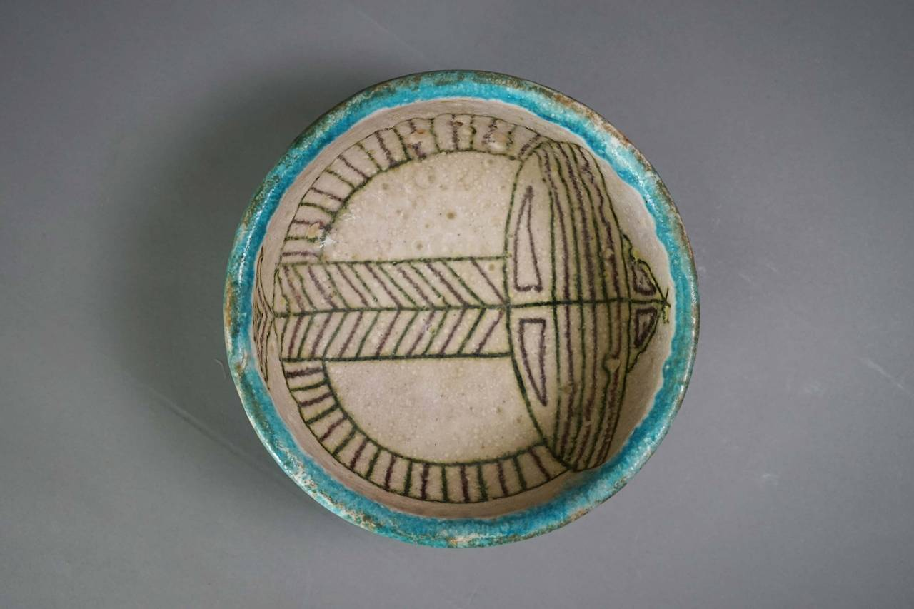 Little bowl by Guido Gambone, Italy, 1950.
