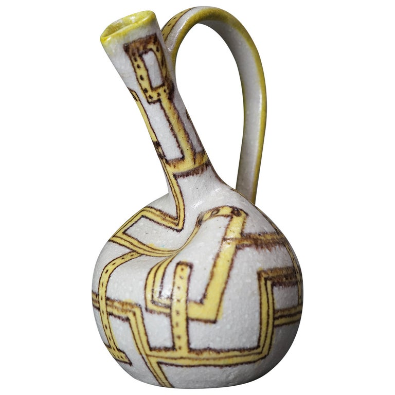Pitcher by Guido Gambone, Italy 1950 For Sale