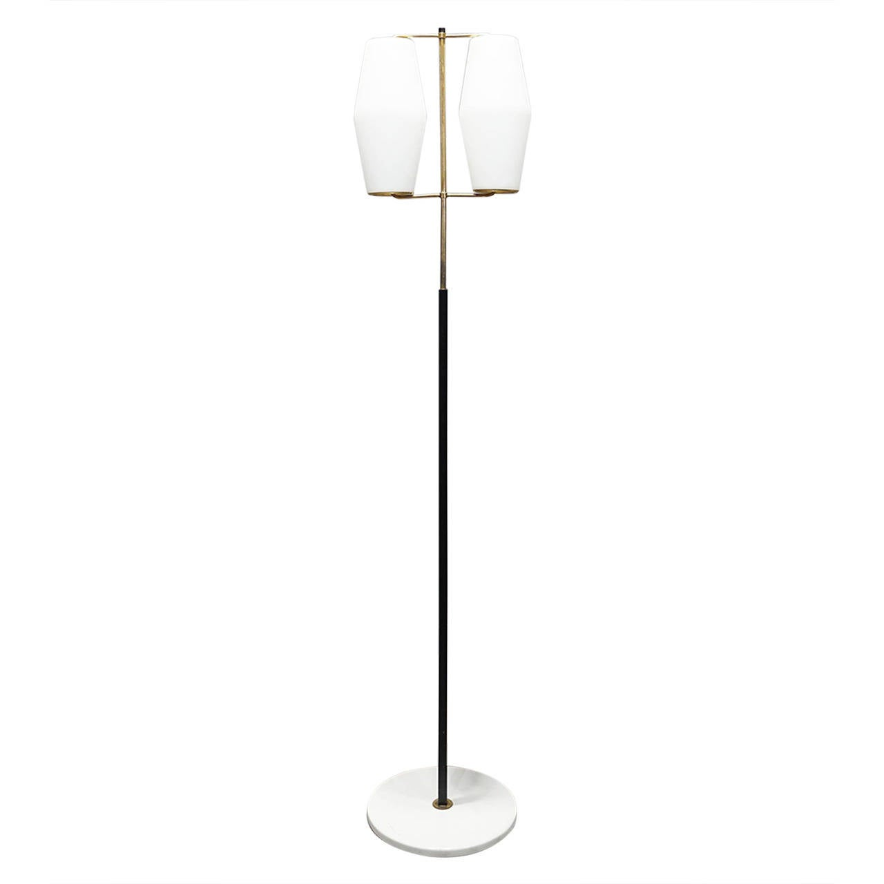 Floor lamp by stilnovo italy circa 1950 for sale at 1stdibs for 1950 floor lamp