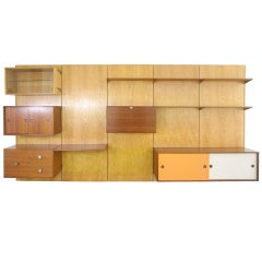 Bookshelf by gianfranco frattini bernini italy circa 1955 for Bernini arredamento