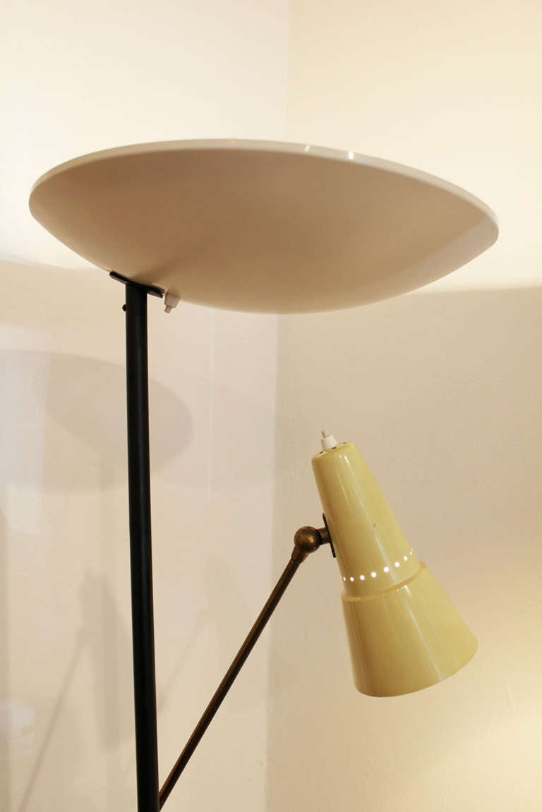 Stilnovo floor lamp 1950 at 1stdibs for 1950 floor lamp