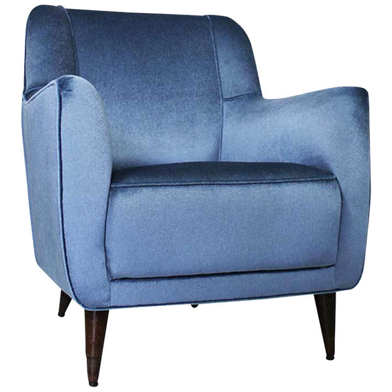 Armchair by Gio Ponti, Cassina, circa 1945 For Sale