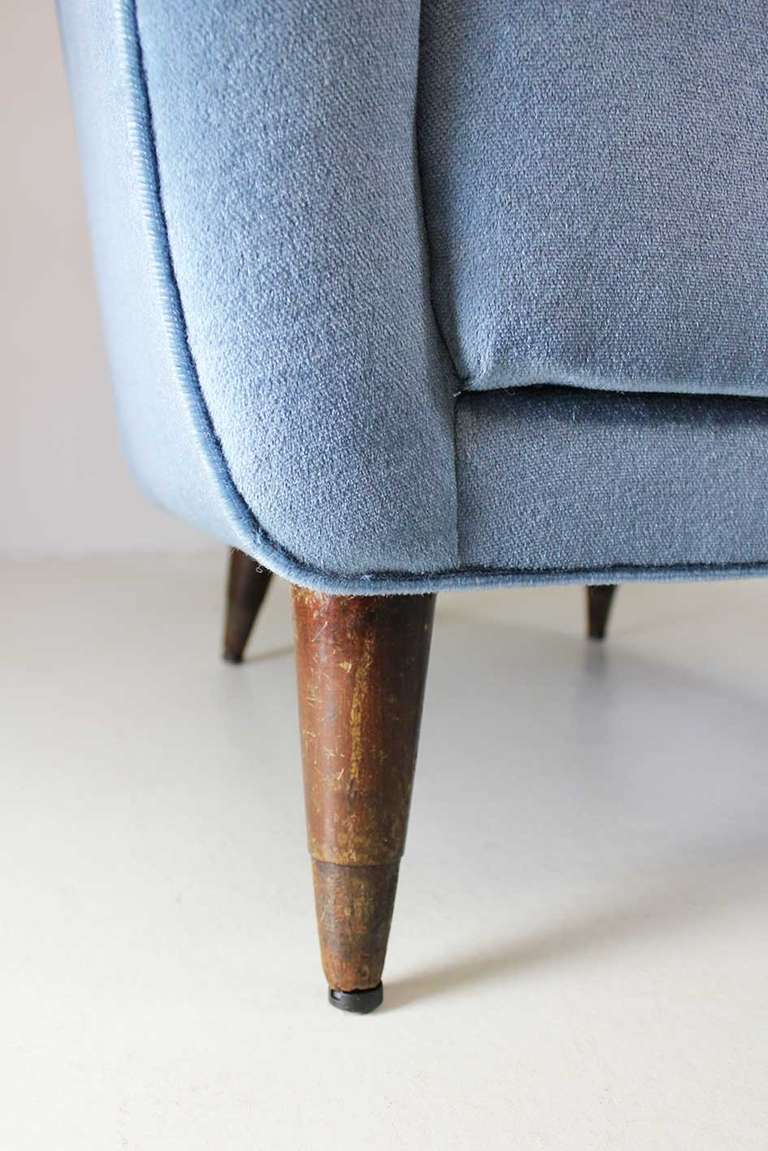 Armchair by Gio Ponti, Cassina, circa 1945 For Sale 1