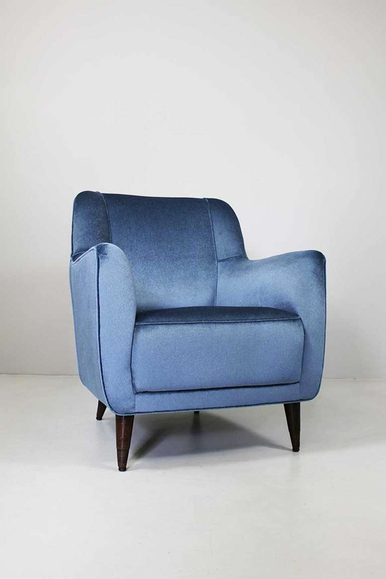 Armchair by Gio Ponti, Cassina circa 1945
