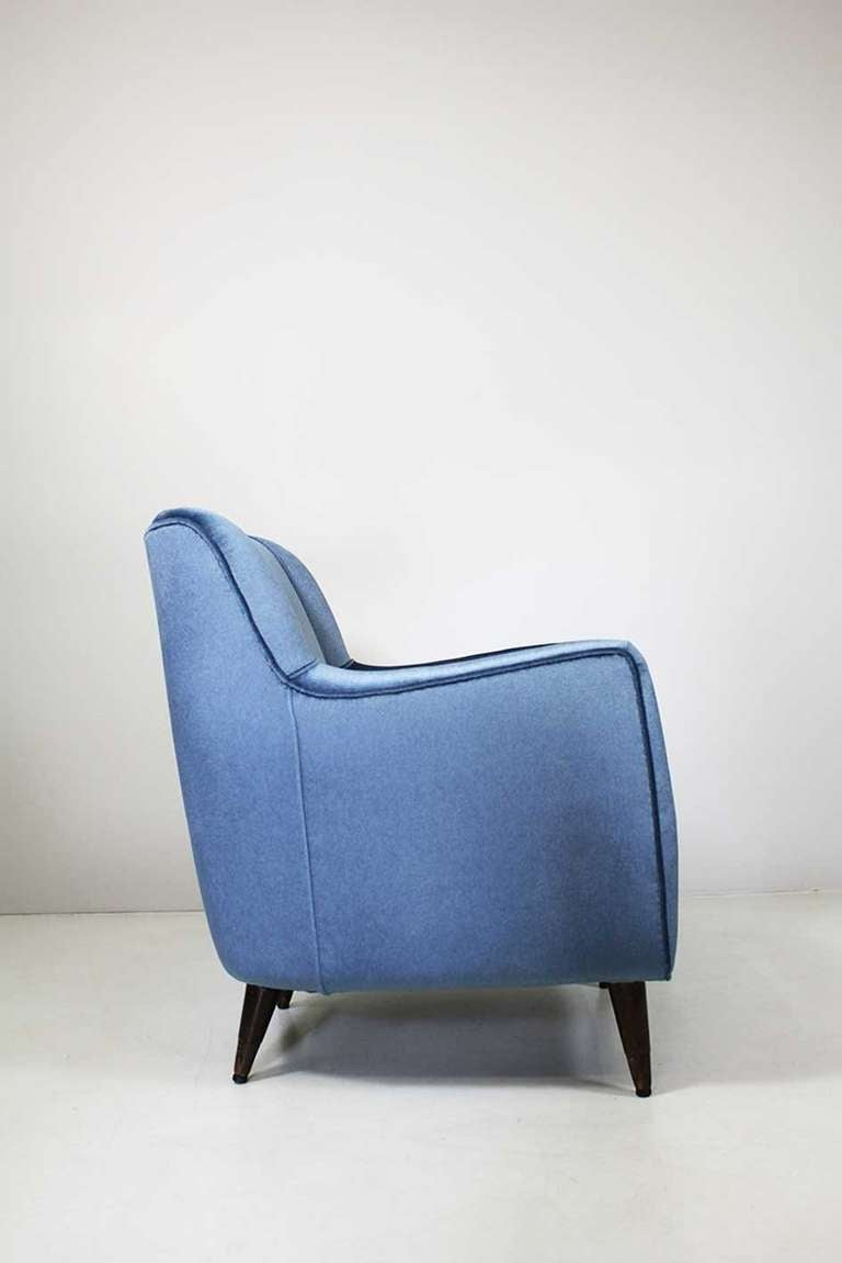 Armchair by Gio Ponti, Cassina, circa 1945 In Excellent Condition For Sale In Berlin, DE