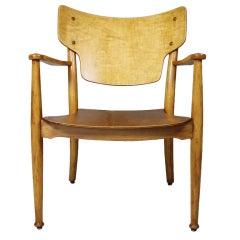 "Stackable Arm Chair ""PORTEX"" by Peter Hvidt & Orla Mølgaard Nielsen, around 1944"