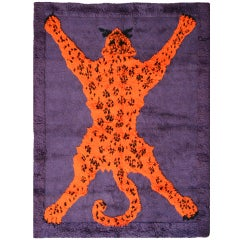 "Carpet ""Tiger"", by Gabetti e Isola, Arbo Torino, 1970"