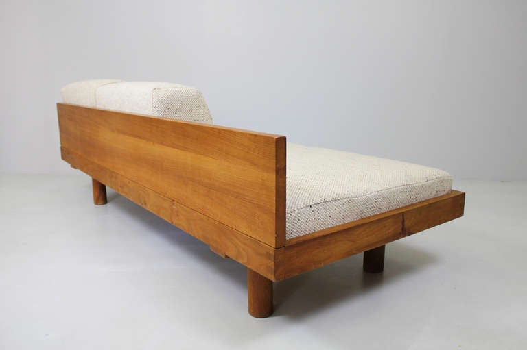Daybed holz  Sofa / Daybed by Pierre Chapo. around 1960 For Sale at 1stdibs