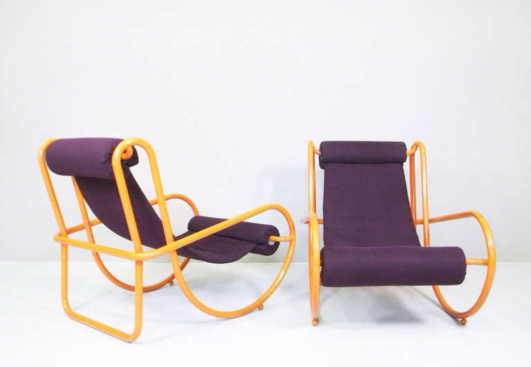 "Armchairs model ""LOCUS SOLUS"" by Gae Aulenti, Poltronova, 1964"