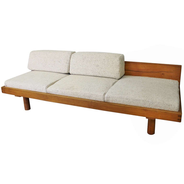Sofa / Daybed by Pierre Chapo. around 1960
