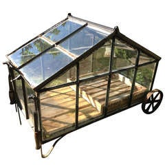 Large Portable Greenhouse Cart