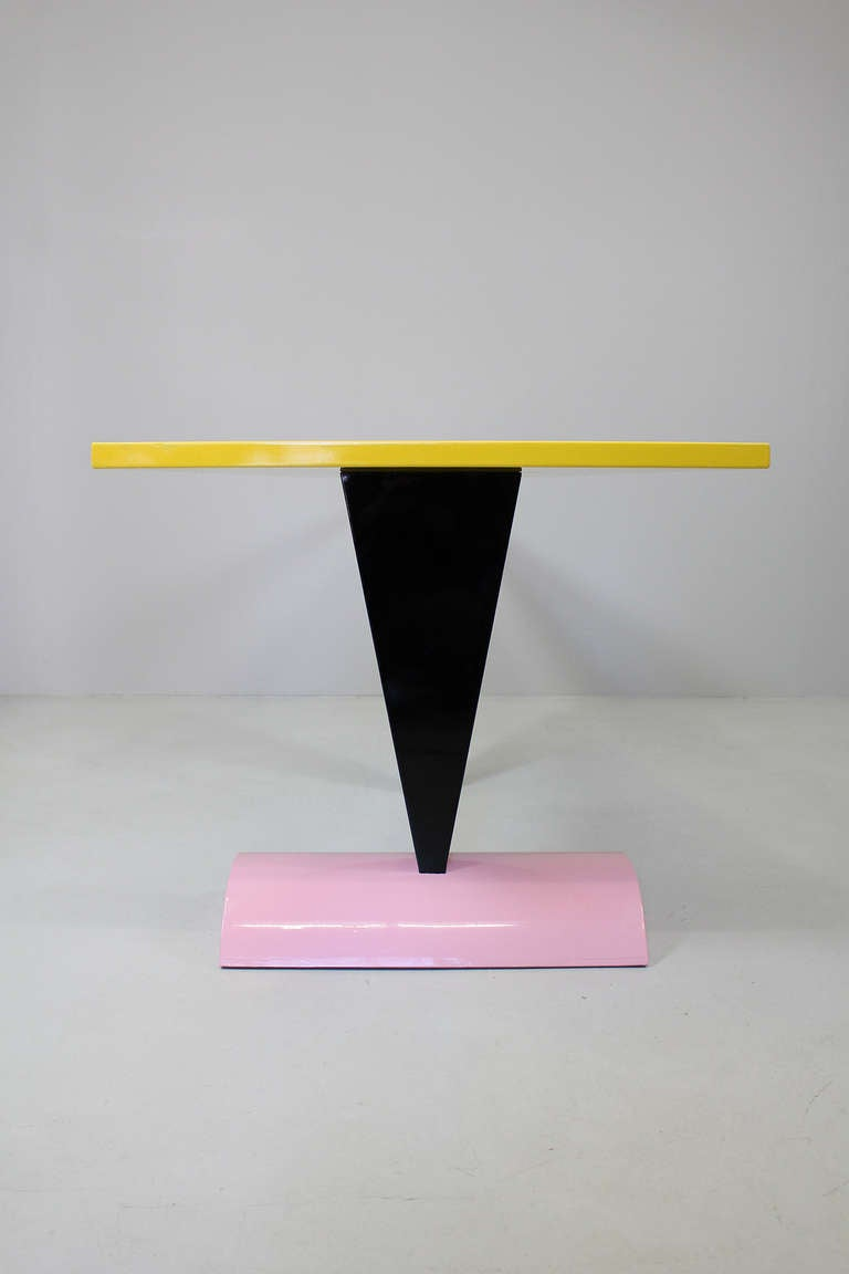 """Table """"Brazil"""" by Peter Shire, Memphis Milano, 1981 4"""