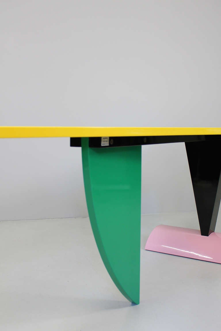 """Table """"Brazil"""" by Peter Shire, Memphis Milano, 1981 5"""