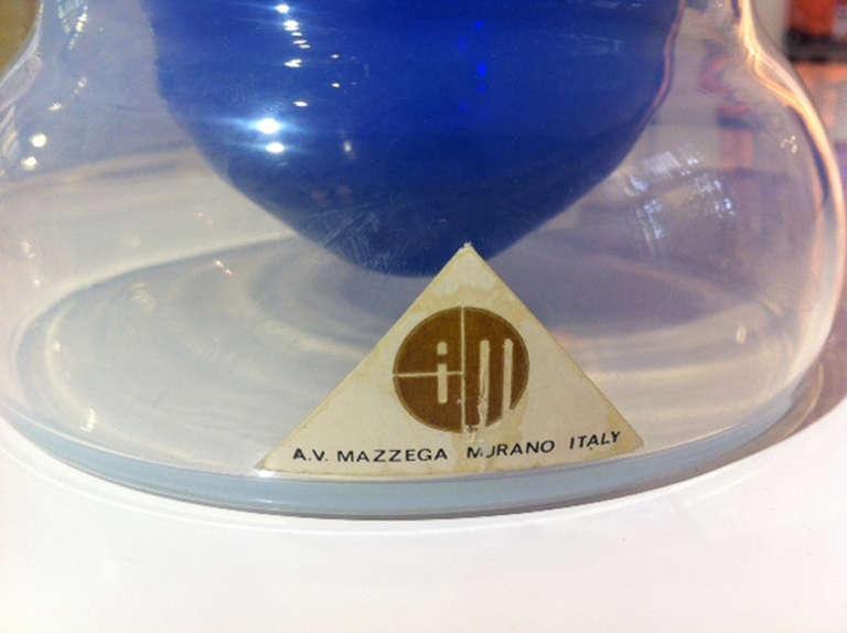 Vase by Carlo Nason, Mazzega Italy, 1964 In Excellent Condition For Sale In Berlin, DE