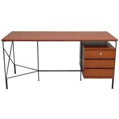 Desk by ARP (Motte, Mortier, Guariche), Minvielle, France, 1956