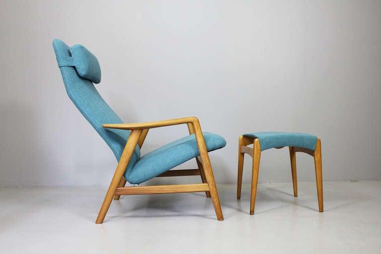 Modern Pair of armchairs by Alf Svensson, Fritz Hansen Denmark, ca. 1962