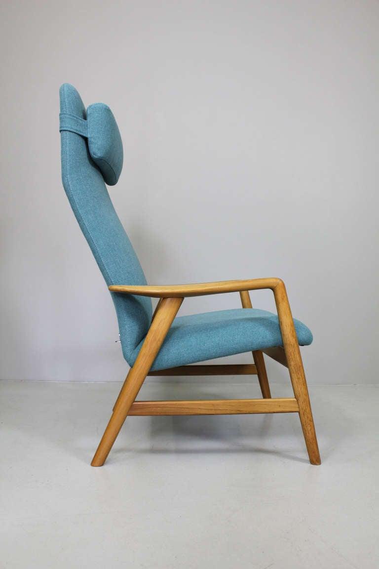Danish Pair of armchairs by Alf Svensson, Fritz Hansen Denmark, ca. 1962