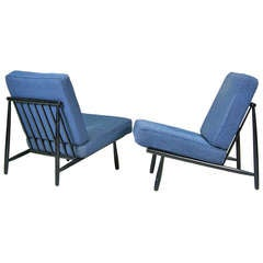 Easy chairs by Alf Svenson, Sweden 1953