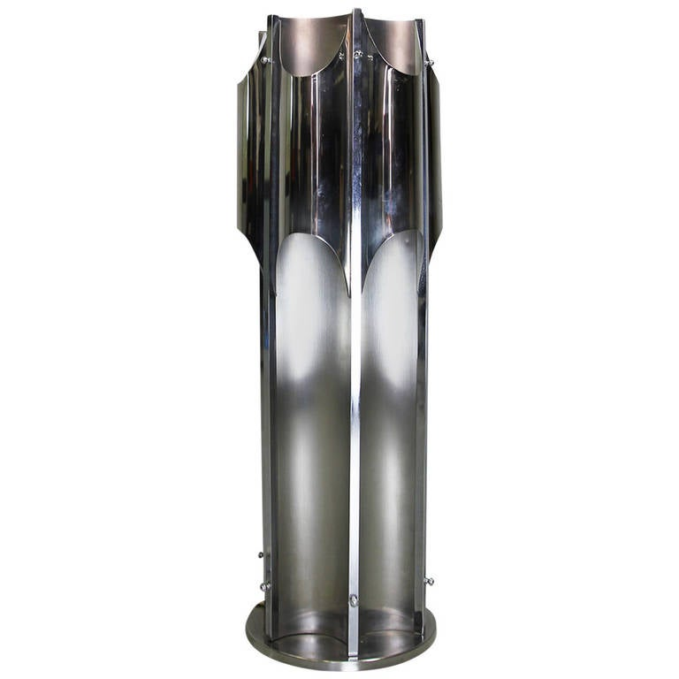 """Organ Pipe"" Floor or Table Lamp by Michel Boyer"