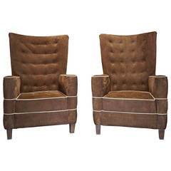 Pair of Armchairs by Guglielmo Ulrich, circa 1936