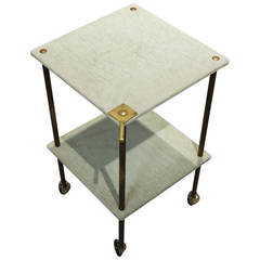 "Side Table Model ""T9"" by Luigi Caccia Dominioni, Azucena Milano, 1955"
