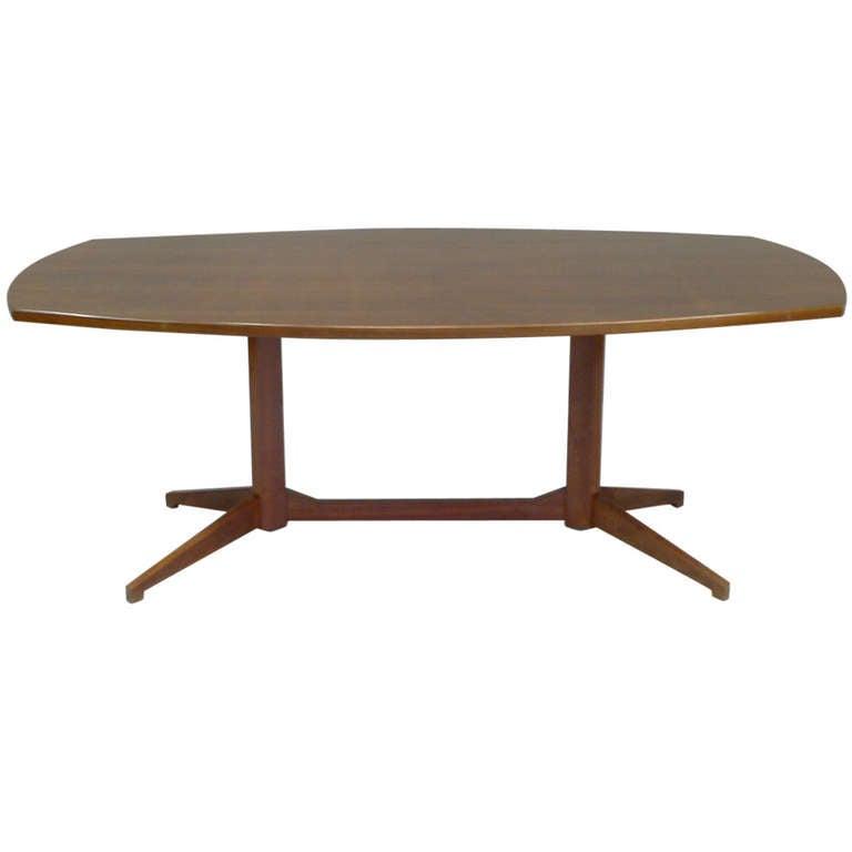 """Table model """"TL22"""" by Franco Albini/ Franca Helg 1958, Poggi Italy"""