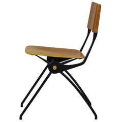 Chair by Carlo di Carli 1956, Tecno Milano Italy