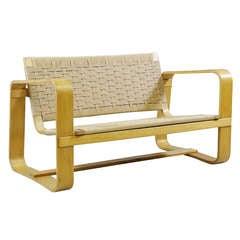2seater sofa by Guiseppe Pagano Pogatschnig 1938/41, Maggioni Italy