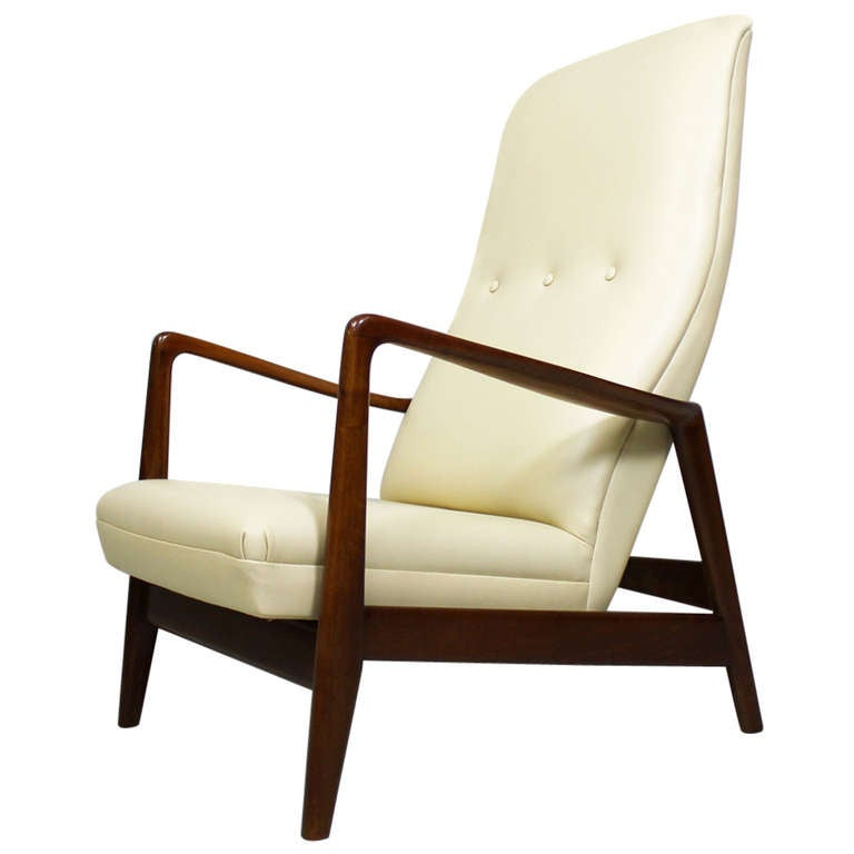 Armchair 829 by gio ponti cassina italy 1960 at 1stdibs for Cassina italy