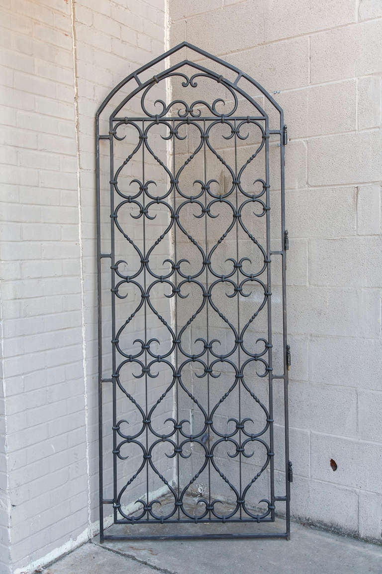 Forged Iron Doors : Hand forged iron door at stdibs