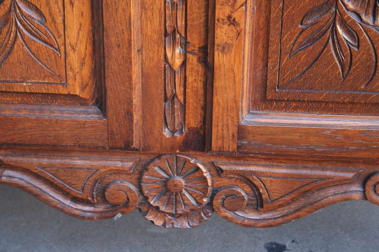 Hand Carved Louis Xv Vitrine Or Biblioth Que At 1stdibs