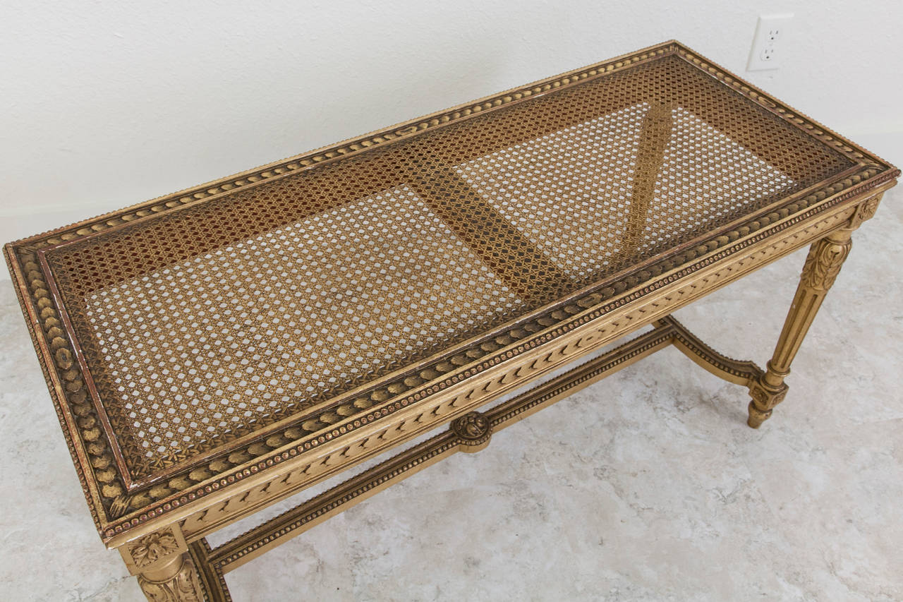 French Gold Leaf Louis Xvi Style Piano Bench For Sale At 1stdibs